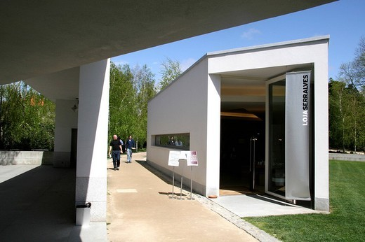 fundation serralves, museum contemporary art, oporto, portugal, europe : Stock Photo