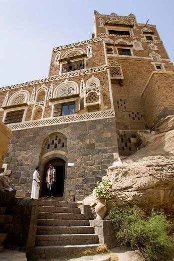 Stock Photo: 3153-621150 asia, arabian peninsula, yemen, wadi da´r