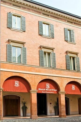 hotel real fini, modena, emilia romagna, italia : Stock Photo