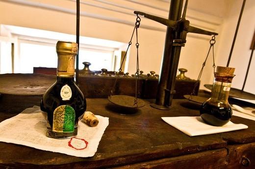 acetaia, museo del balsamico tradizionale, spilamberto, emilia romagna, italy : Stock Photo