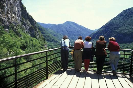 pyrenees mountains, tarascon, france : Stock Photo