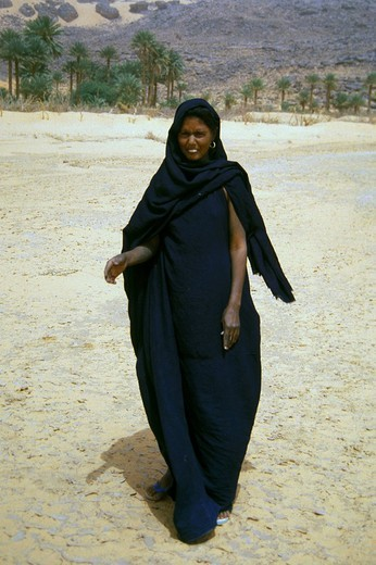 mauritania, woman : Stock Photo