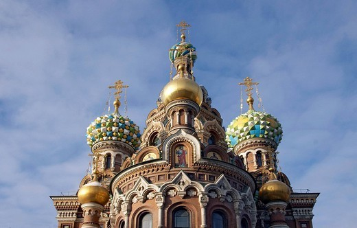 russia, st.petersburg, church of the saviour on spilled blood : Stock Photo