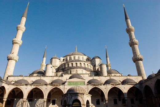 Stock Photo: 3153-625147 europe, turkey, istanbul, yeni cami mosque