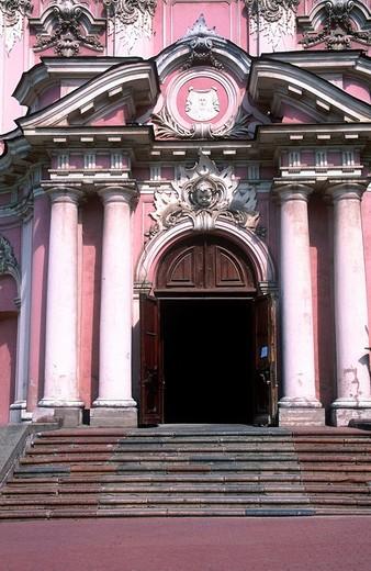 Stock Photo: 3153-626762 europe, lithuania, vilnius, saint casimiro church
