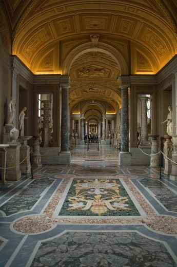 Stock Photo: 3153-627685 vatican museums, rome, lazio, italy