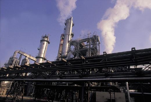 slovakia, slovnaft, oil industry : Stock Photo
