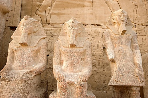 tempio di amon_ra, el_karnak, egitto : Stock Photo