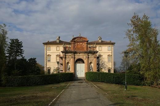 villa pallavicino, busseto, emilia romagna, italia : Stock Photo