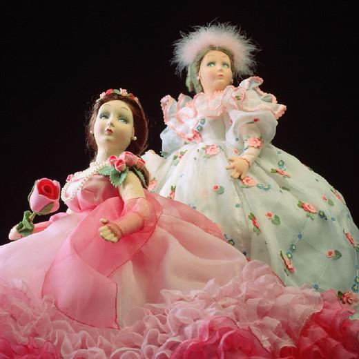 Stock Photo: 3153-630415 italy, piemonte, turin, lenci dolls