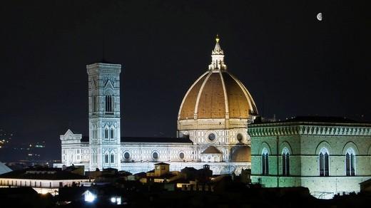 Stock Photo: 3153-631289 dome santa maria del fiore, florence, tuscany, italy