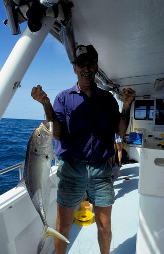 Stock Photo: 3153-632432 deep-sea fishing