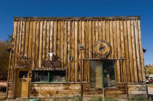 Dayton near Sheridan, Wyoming, USA. : Stock Photo