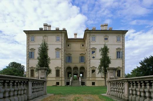 Stock Photo: 3153-635985 villa pallavicino and civic museum, busseto, italy