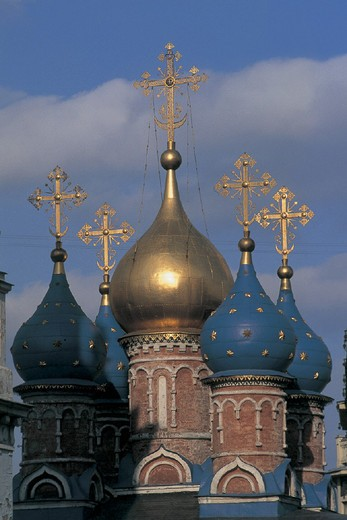 russia, moscow, church : Stock Photo