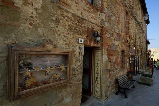 Stock Photo: 3153-639089 monteriggioni, tuscany, italy