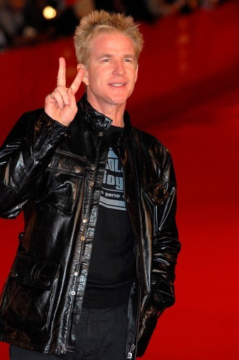 matthew modine,rome 22_10_2008,rome film festival,photo mattoni/markanews : Stock Photo