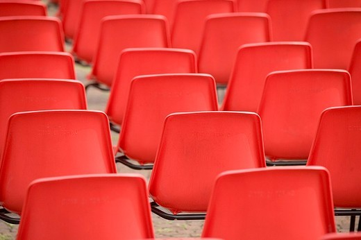 Stock Photo: 3153-642513 red chairs