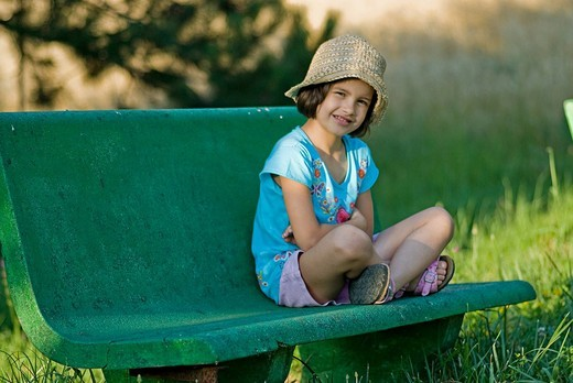 Stock Photo: 3153-645016 little girl, bunch