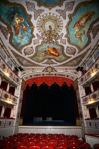 Stock Photo: 3153-645360 teatro verdi, busseto, emilia romagna, italia
