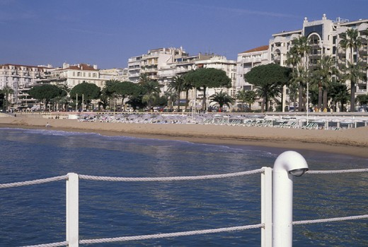 la croisette, cannes, france : Stock Photo