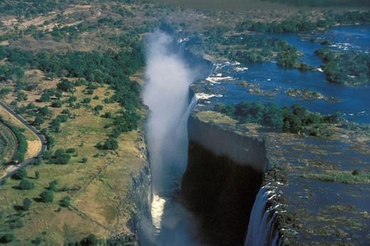 Zimbabwe, Victoria Falls : Stock Photo