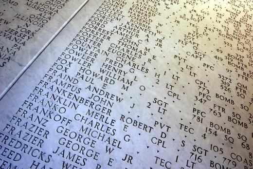 american cemetery nettuno : Stock Photo