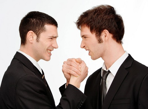 men, handshake : Stock Photo