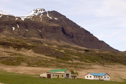 Near Breiddalswik, Iceland. : Stock Photo