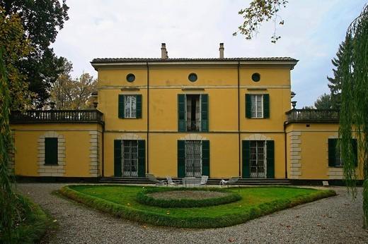 villa verdi, fraz. sant´agata, busseto, emilia romagna, italia : Stock Photo