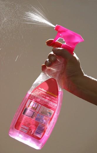 spray cleaner : Stock Photo