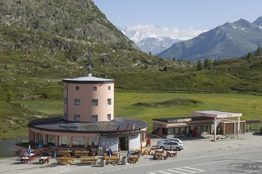 simplon pass, simplon, switzerland : Stock Photo