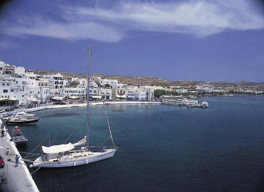Stock Photo: 3153-654292 greece, cyclades, milos, adamas