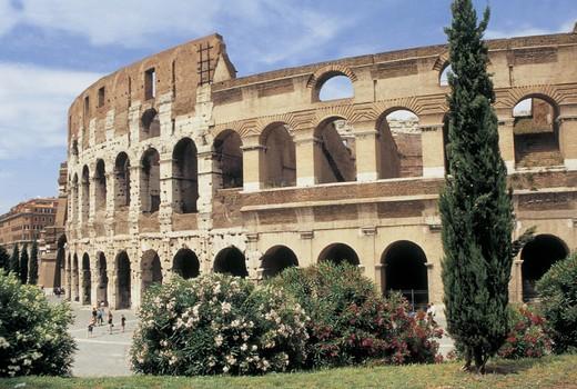 Stock Photo: 3153-655311 italy, lazio, rome, coliseum