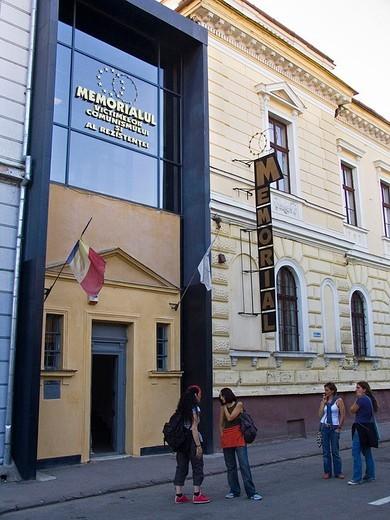 Stock Photo: 3153-656224 europe, romania, maramures, sighetu marmatiei, museum of the arrested thought