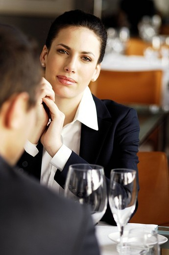 Stock Photo: 3153-656288 business dinner
