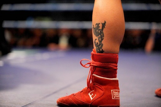 stefania bianchini,milano 24_10_2008,world championship WBC women flyweight,photo paolo bona/markanews, : Stock Photo