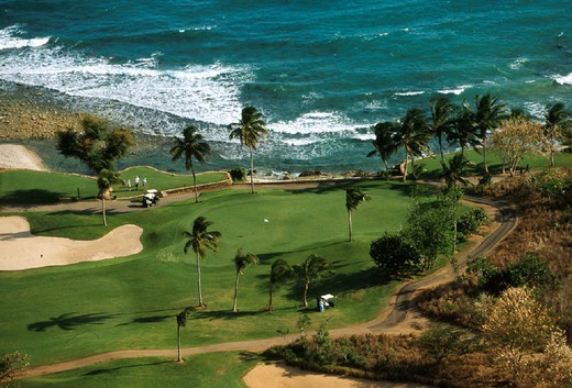golf course, casa de campo, santo domingo : Stock Photo