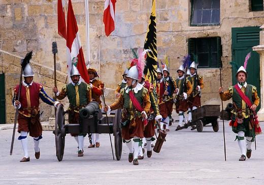 Stock Photo: 3153-659166 malta, valletta, st.elmo fortress