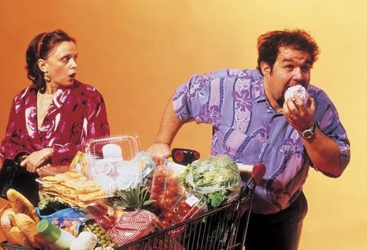 Stock Photo: 3153-660888 couple, shopping