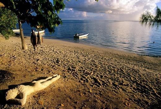 french polynesia, moorea, dream island, lagoon : Stock Photo