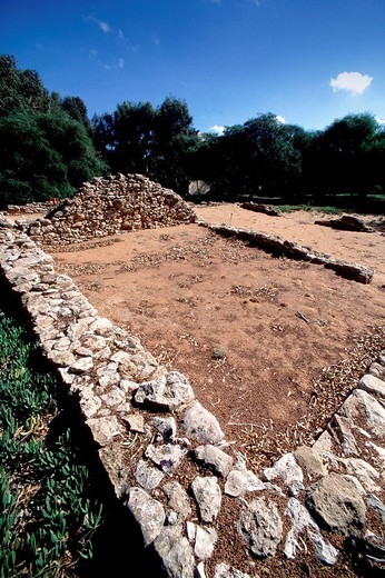 Stock Photo: 3153-664133 europe, italy, sicily, caucana, archaeological area