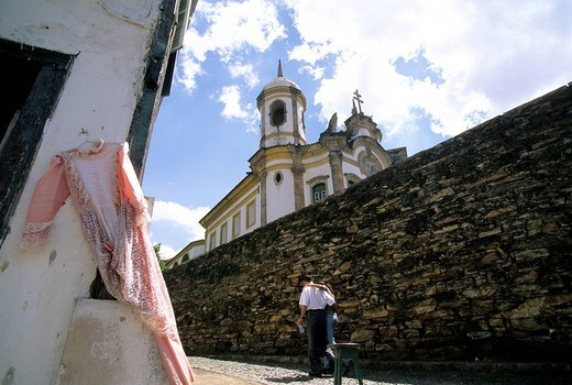 Stock Photo: 3153-664523 sao francisco de assis, ouro preto, minas gerais, brazil