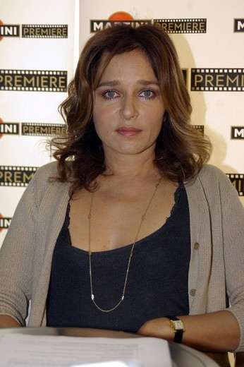 Stock Photo: 3153-666404 valeria golino,milano 15_10_2008 ,martini premiere award 2008,photo marco becker/markanews