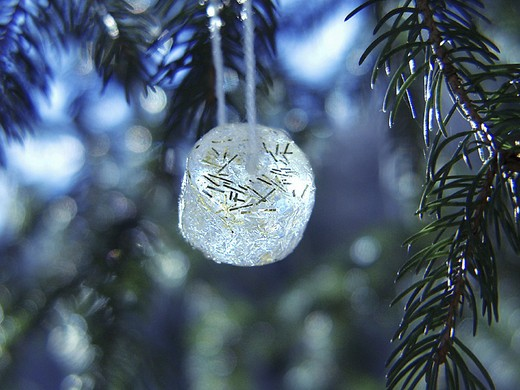 ice decoration : Stock Photo