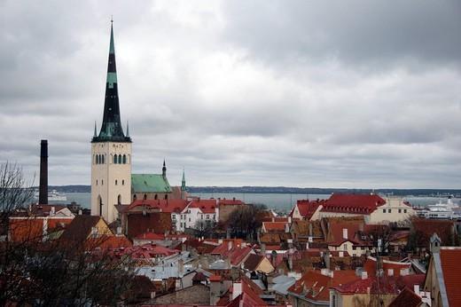 Stock Photo: 3153-668058 estonia, tallinn