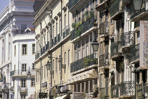 rua augusta, lisbon, portugal : Stock Photo