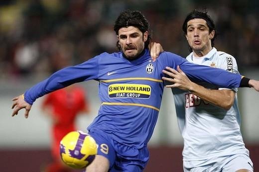 vincenzo iaquinta ,messina 06_01_2009 ,football frienldy match juventus_monaco ,photo p.barone/markanews : Stock Photo