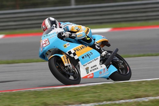 mattia pasini,sepang 17_10_2008,malesya gp,free test,photo antonio de rosa/markanews : Stock Photo