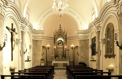 Stock Photo: 3153-673055 madonna del campione church, todi, italy
